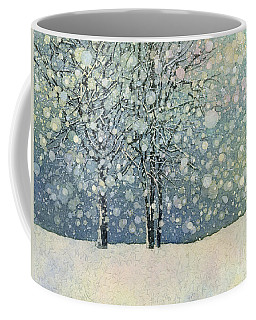 Coffee Mug featuring the painting Winter Sonnet by Hailey E Herrera