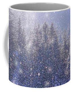 Winter Sparkle Coffee Mug by Kathy Bassett