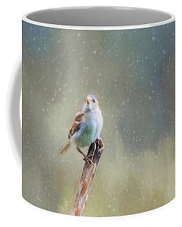 Winter Sparrow  Coffee Mug
