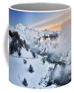 Winter Steam  Coffee Mug