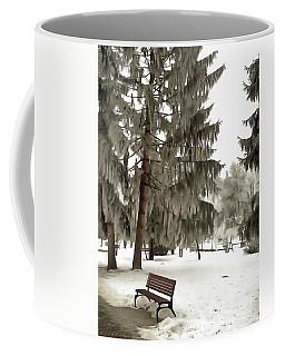 Winter Still Life In The Park Coffee Mug