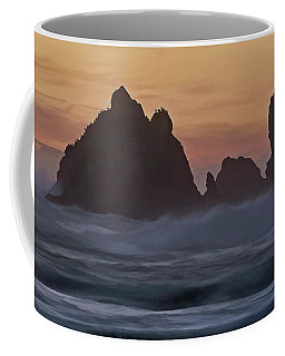 Coffee Mug featuring the photograph Winter Storm - 365-248 by Inge Riis McDonald