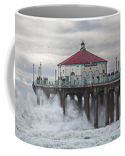 Winter Storm Coffee Mug by Jerry Cowart