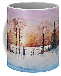 Winter Sunrise Coffee Mug by Geni Gorani