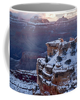 Winter Sunrise - Mather Point Grand Canyon Coffee Mug