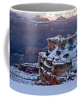 Winter Sunrise - Mather Point Grand Canyon Coffee Mug