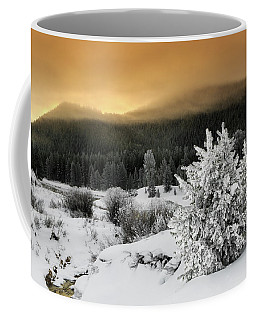 Coffee Mug featuring the photograph Winter Sunrise by Ronnie and Frances Howard