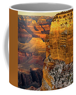 Winter Sunset At The Grand Canyon Coffee Mug