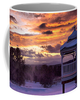 Winter Sunset  Coffee Mug by Betty Pauwels