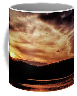 Coffee Mug featuring the photograph Winter Sunset by Thomas R Fletcher