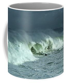 Winter Surf On Monterey Bay Coffee Mug