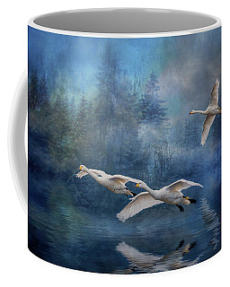 Winter Swans Coffee Mug