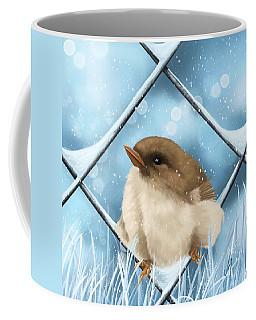 Coffee Mug featuring the painting Winter Sweetness  by Veronica Minozzi