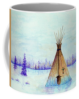 Winter Tepee Coffee Mug