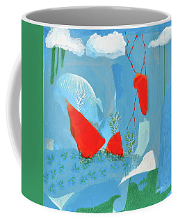 Winter Thunder Coffee Mug by Donna Blackhall