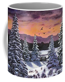 Winter Time Again Coffee Mug