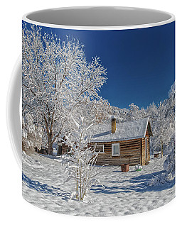 Winter Time Retreat Coffee Mug
