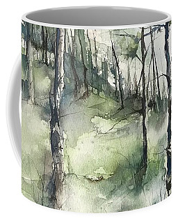 Winter To Spring Coffee Mug by Robin Miller-Bookhout