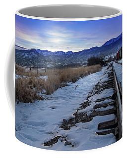 Winter Tracks Coffee Mug