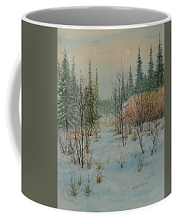 Winter Trail Alberta Coffee Mug