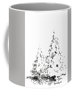 Winter Trees 1 - 2016 Coffee Mug