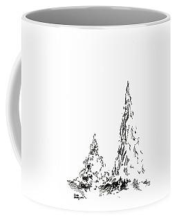 Winter Trees 2 - 2016 Coffee Mug
