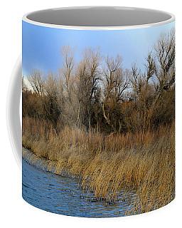 Winter Trees Along The Snake Coffee Mug