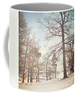 Coffee Mug featuring the photograph Winter Trees by Lyn Randle