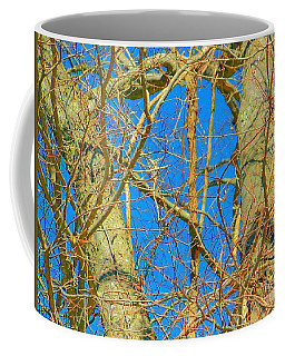 Coffee Mug featuring the photograph Winter Trees by Shirley Moravec