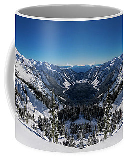Winter Valley Reflection Coffee Mug