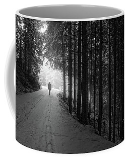 Winter Walk - Austria Coffee Mug by Mountain Dreams