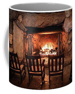 Coffee Mug featuring the photograph Winter Warmth by Karen Wiles