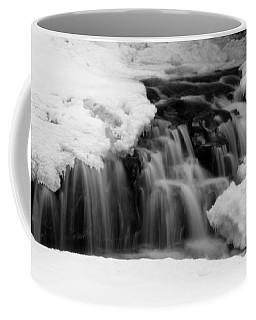 Winter Waterfall In Jackson, Nh Coffee Mug