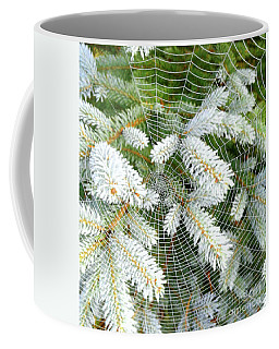 Winter Web Coffee Mug