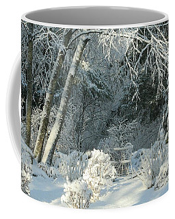 Coffee Mug featuring the photograph First Light New England by Barbara S Nickerson
