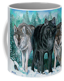 Winter Wolves Coffee Mug