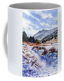Coffee Mug featuring the painting Winter Wonderland by Anne Gifford