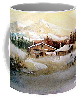 Winter Wonderland  Coffee Mug by Hazel Holland