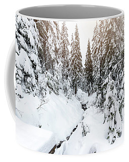 Winter Wonderland Coffee Mug by Sabine Edrissi