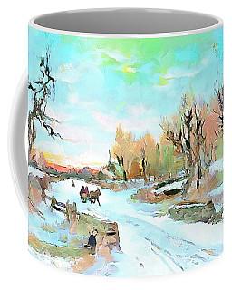 Winter Wonderland Coffee Mug by Wayne Pascall