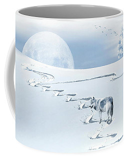 Winter Wonderland - Wolf Coffee Mug