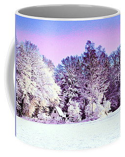 Coffee Mug featuring the digital art Winter by Zedi