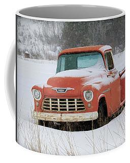 Winterized 1955 Chevy Pickup Coffee Mug