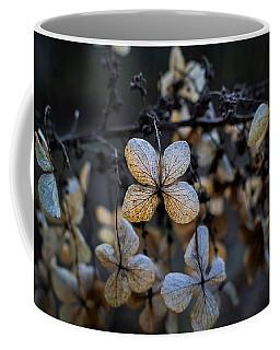 Winterized Hydrangea Coffee Mug