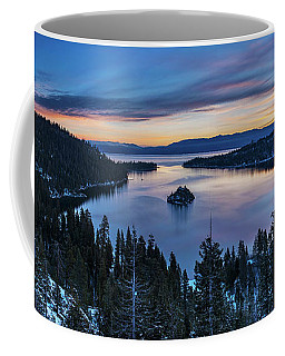 Winters Awakening - Emerald Bay By Brad Scott Coffee Mug