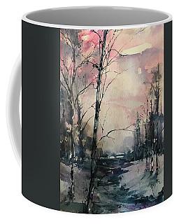 Winter's Blush Coffee Mug