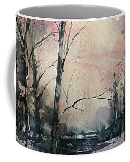 Winter's Blush Coffee Mug by Robin Miller-Bookhout