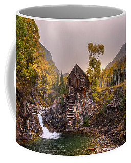Coffee Mug featuring the photograph Winter's Coming by Darren White