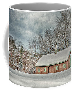 Winters Coming Coffee Mug by Tricia Marchlik