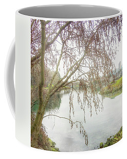 Coffee Mug featuring the photograph Winter's  End  by Connie Handscomb